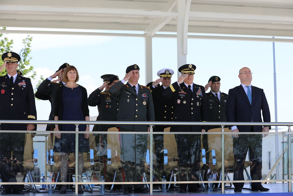 Commander, U.S. European Command (EUCOM), Gen. Curtis M. Scaparrotti, during a two-day visit to Georgia this week, met with senior Georgian leaders to reaffirm U.S. commitment to Georgia's sovereignty and aspirations to become a member of NATO.